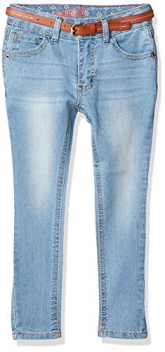 CHEROKEE Girls' Big Skinny Long Denim Jeans, Gigi wash, 10
