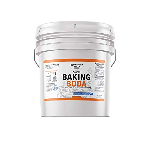 Baking Soda (Sodium Bicarbonate) (3.5 gallon) by Unpretentious Baker, Resealable Bucket, Restaurant Quality, Highest Purity, Food & USP Pharmaceutical Grade