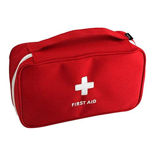 Yingku First Aid Kit For Home Bolsa Primeros Auxilios Bolsa Médica Portátil Bolsa de Emergencias Sanitarias para Supervivencia Acampar Senderismo Viaje al Aire Libre (RD)