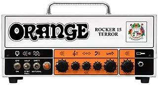 Orange Amps 4 String Electric Guitar Pack, Orange (ROCKER-15-TERROR)