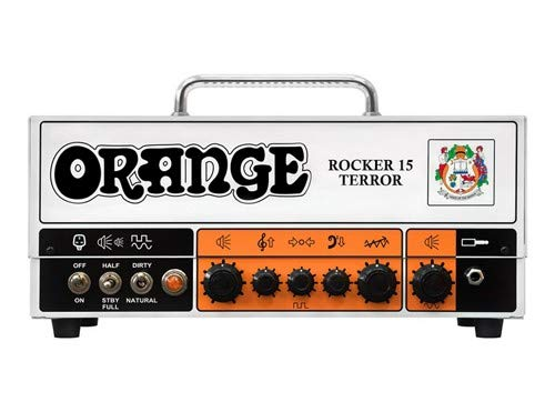 Cheap Orange Amps 4 String Electric Guitar Pack Orange (ROCKER-15-TERROR) Black Friday & Cyber Monday 2019