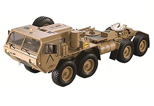 Integy RC Model Hop-ups C28703 HG-P802 1/12 8X8 Military Truck ARTR w/ 2.4GHz Remote, Sound & Light Upgrades