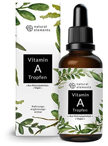 natural elements -  Vitamin A Tropfen