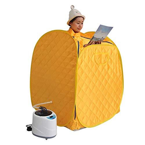 DAMAI Mobile Dampfsauna Heimsauna Wärmekabine Mit Doppelter Reißverschluss Und Tasche Ideales Für Abnehmen Toxin Entfernen Müdigkeit Reduzieren