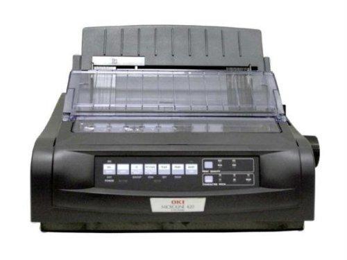 Sale!! OKI Data Microline 420 Black Dot Matrix Printer, 570 cps, 240x216dpi, Parallel/USB, 120V