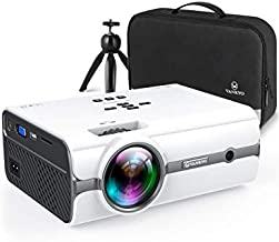 VANKYO Leisure 410 [2020 Upgrade] Mini Projector with 1080P Supported, Portable Projector compatiable with iOS/Android Connection, HDMI, PS4, VGA, USB for Home Entertainment & Outdoor Activities