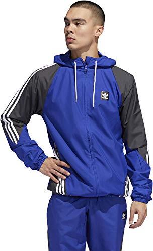 adidas INSLEY Jacket Cortavientos, Hombre, azuact/Grpudg/Blanco, XL