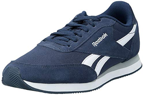 Reebok Herren Royal Classic Jogger 2 Sneakers, Blau (Collegiate Navy/White/Baseball Grey), 42 EU