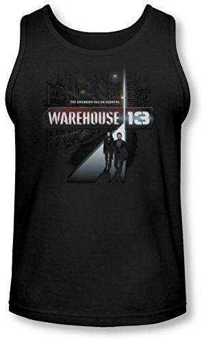 Warehouse 13 - - The Unknown Tank-Top pour hommes, Large, Black