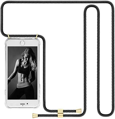 """Imikoko Handykette Hülle für iPhone 11 Pro(5.8"""") Necklace Hülle mit Kordel zum Umhängen Silikon Handy Schutzhülle mit Band - Schnur mit Case zum umhängen"""