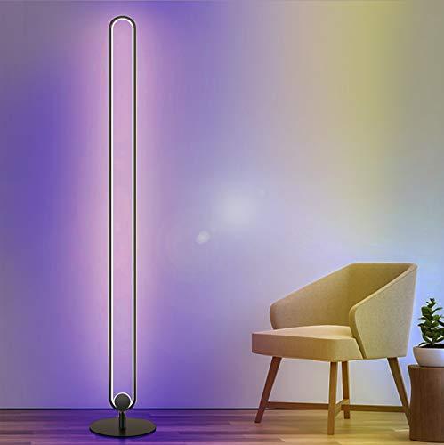 Ydshyth Led Stehleuchte RGB Stehlicht Mit Fernbedienung, Für Wohnzimmer Schlafzimmer Farbwechsel Lichtsaeule Farbtemperaturen Und Helligkeit Stufenlos Dimmbar