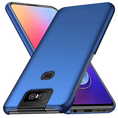 TenYll Hülle für Asus Zenfone 6 ZS630KL, [Ultra Slim] PC Schutzhülle Stoßfest,Cover Etui leichte Handy-Tasche Handyhülle Schutzhülle für Asus Zenfone 6 ZS630KL -Blau