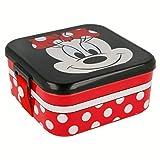 Minnie Mouse Brotdose Lunchbox mit Sicherheitsverschluss