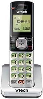 VTech CS6709 Accessory Cordless Handset, Silver/Black | Requires VTech CS6719, CS6729, CS6829, or CS6859 Series Phone Syst...