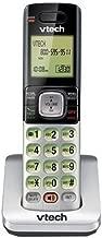 VTech CS6709 Accessory Cordless Handset, Silver/Black | Requires VTech CS6719, CS6729, CS6829, or CS6859 Series Phone System to Operate