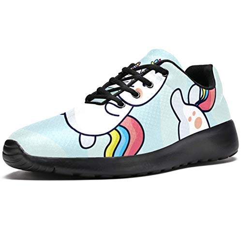 imobaby Sport Running Shoes for Women Wannabe Unicorn Clipart Set Fashion Sneakers Mesh Breathable Walking Hiking Tennis Shoe