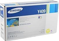 Samsung clt-y409s OEMトナー–clp-310clp-315clx-3170clx-3175シリーズイエロートナー( 1000Yield )