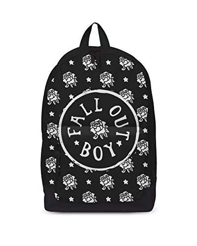 Fall Out Boy Rucksack Rock Sax Rose Stempel Musik Merchandise Rucksack Tasche