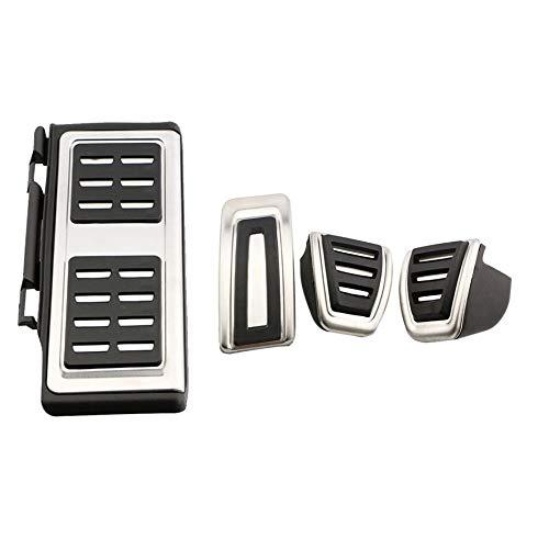 Pedales para Automóviles/Fit For - VW Golf 7 VII GTI MK7 Passat B8 Seat Leon / / Fit For - Skoda Octavia A7 Rapid / (Colore : 4Pcs MT)