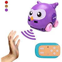 YunFan 2.4GHZ Automatic Tracking Radio Control Baby Car Toys with Music