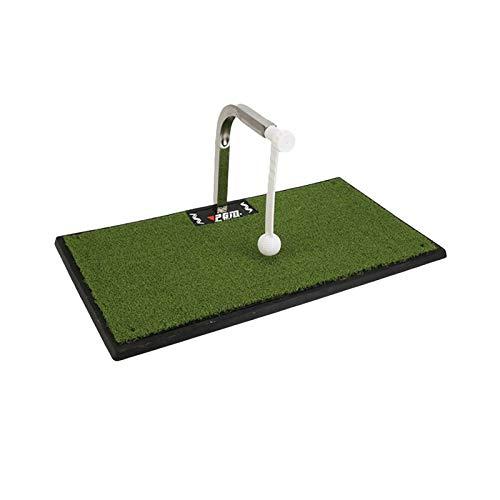 Zidao Golf Pad, Swing de Golf Entrenador de Interior y Exterior Columpio portátil Trainer 360 ° de rotación Entrenador,A