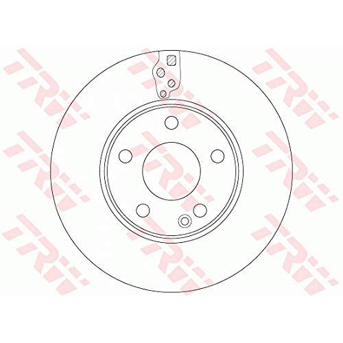 Preisvergleich Produktbild Bremsscheibe - TRW DF6548