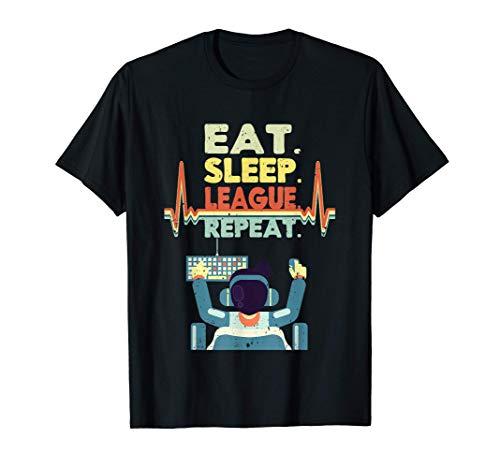 LOL Merchandise League Regalos de juegos para hombres Ropa Camiseta