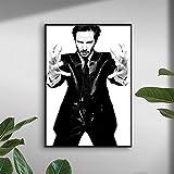 UIOLK Nordische Moderne Keanu Reeves Leinwand Malerei