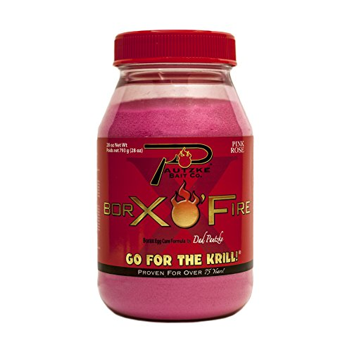 Pautzke Borax O' Fire PBRX28/PNK, Pink 28 OZ