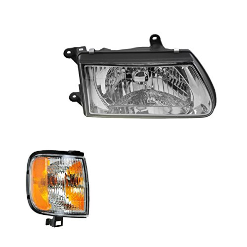 Headlight Corner Light Lamp Kit RH Right Passenger Side for 00-02 Isuzu Rodeo