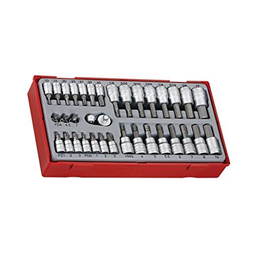'' tengtools ttbs35–Steckschlüsselgarnitur 1/4und 3/8mit Endstück, 35-teilig