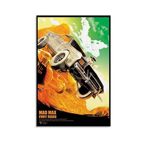 tongwenguan Póster de la película Mad Max Fury Road (2015) para pared, lienzo decorativo para sala de estar, dormitorio, 30 x 45 cm