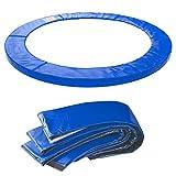 Kinetic Sports Randabdeckung Ersatzteil für Gartentrampolin mit ca. Ø 244 cm | Breite 26cm | UV beständig | reißfest | Ersatz Rahmenpolster Schutzpolster | 15 mm EPE-Schaumstoff | blau