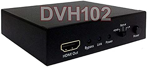 HDMI DVI Audio Embedder + Analog/Digital Audio to HDMI DVI Converter