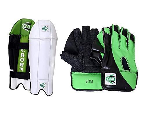 CW Shield Club - Juego de críquet para deportes con guantes de mantenimiento para hombres de tamaño completo, paquete combinado de guantes para mantener mojados para adultos