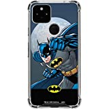 Skinit Clear Phone Case Compatible with Google Pixel 4a 5G - Officially Licensed Warner Bros Batman Ready for Action Design