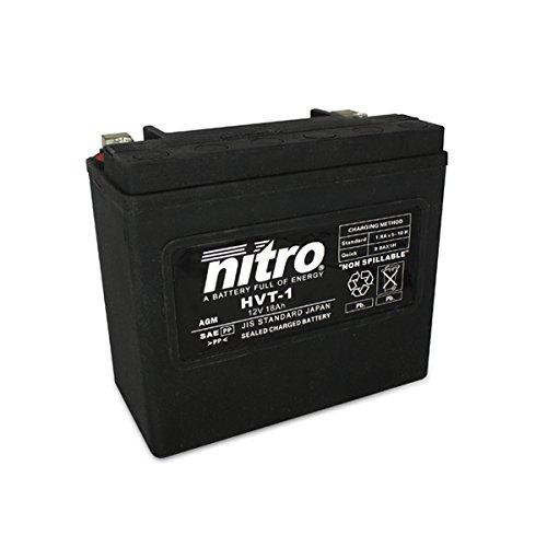 NITRO HVT 01 -N- Batteries, Schwarz (Preis inkl. EUR 7,50 Pfand)