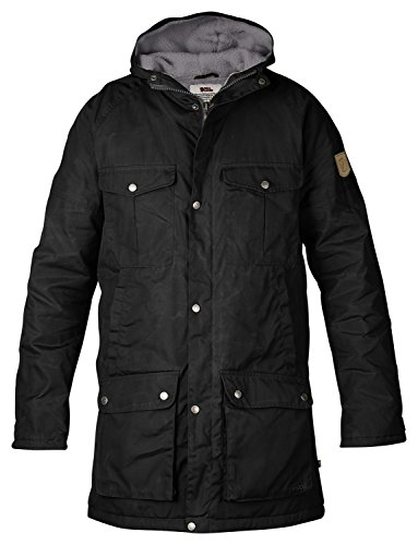 FJÄLLRÄVEN Greenland Winter Parka - Black/Grey
