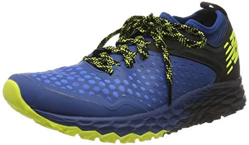 New Balance Fresh Foam Hierro, Zapatillas de Running para Asfalto Hombre, Azul (Blue/Black Blue/Black), 47 EU