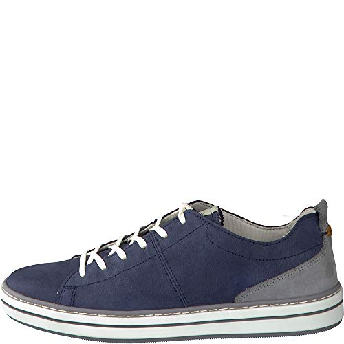 camel active Damen Concept Sneaker, Mehrfarbig (Jeans/Steel 03), 39 EU