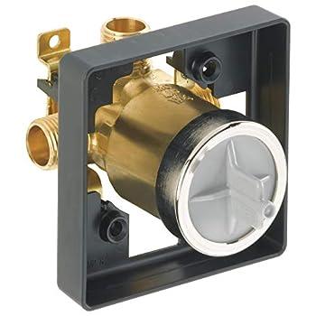 DELTA R10000-UNBXHF MultiChoice Universal Shower Valve Body for Shower Faucet Trim Kits
