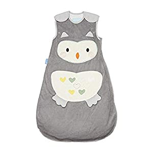 Tommee Tippee GRO Sacco Nanna Grobag 0-6m, 2.5 Tog, Ollie il Gufo