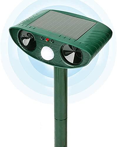Katzenschreck Tiervertreiber, Katzenvertreiber Ultraschall Tiervertreiber Solar Ultraschall Katzenschreck Wasserdicht