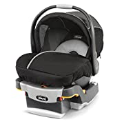 5 Point Harness. Adjustable Head Support, canopy,  carrying handle and latch WEIGHT OF THE CAR SEAT (BASE) : 3.175 kgs KeyFit 30 Magic Infant Car Seat -Coal. Sleek and sophisticated