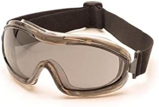 Pyramex Safety Products Low Profile Chemical Splash Goggles, Gray Anti-Fog Lens