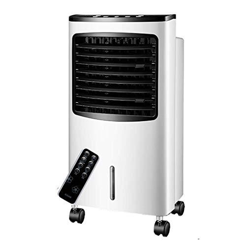 Mini Aire Acondicionado Portátil, Acondicionador de aire, móvil, sin un enfriador de aire evaporativo de 3 en 1 portátil con manguera con ventilador, humidificador y funciones de purificador de aire,