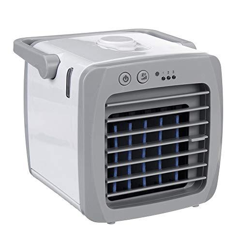 LIPETLI Mini acondicionador de Aire portátil Acondicionador de Aire Espacio Personal Refrigerador de Ventilador Que enfríe la Forma rápida y fácil de Enfriar el Ventilador para la Oficina en casa