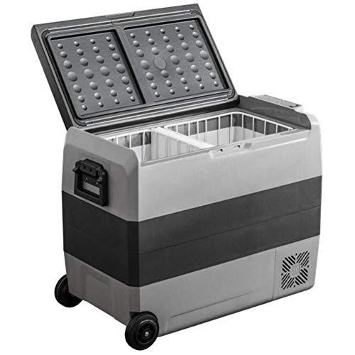 HRRH Tragbare Eiscreme-Gefriertruhe 12V 24V 220V Dual-Use-Zone AutoküHlschrank Gefrierschrank Mit APP-Steuerung, Kann Obst Und GeträNke FüR Home-Office-Reisen Im Freien Aufbewahren