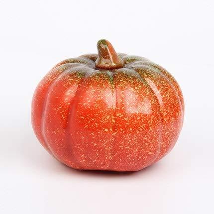 LINMAN Simulación Fruta Falso Vegetal Modelo Decoraciones de Halloween Big Pumpkin Photography Precs Steter Decoration Fous Foam Fingir