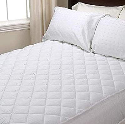 "Viceroybedding Extra Deep 40cm (16"" approx) Quilted Fitted Mattress Protector from Viceroybedding"